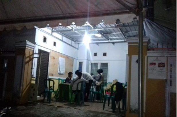 Suasana TPS di Kelurahan Parang Tambung (int)