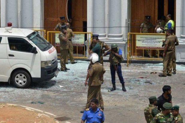 Detik - detik Ledakan Bom di Sri Langka