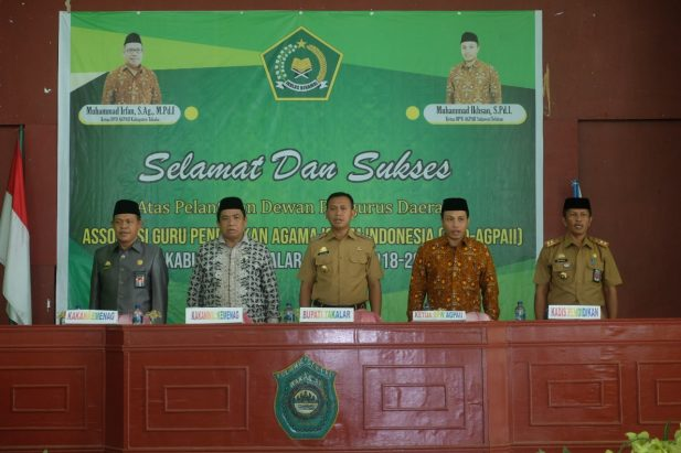 Pelantikan 40 DPD-AGPAI dilaksanakan di Gedung Islamic Center Takalar, dihadiri Bupati Takalar, Kemenag Takalar, dan perwakilan Kemenag Pemprov, Rabu (30/4/2019). (Abdul Kadir. Berita.News)