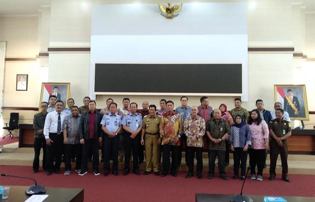 Kunjungan Kerja Tim Koordinasi Kunjungan Orang Asing (TK KORA) Kementerian Luar Negeri