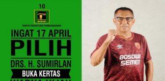 Caleg DPRD Makassar , Sumirlan (int)