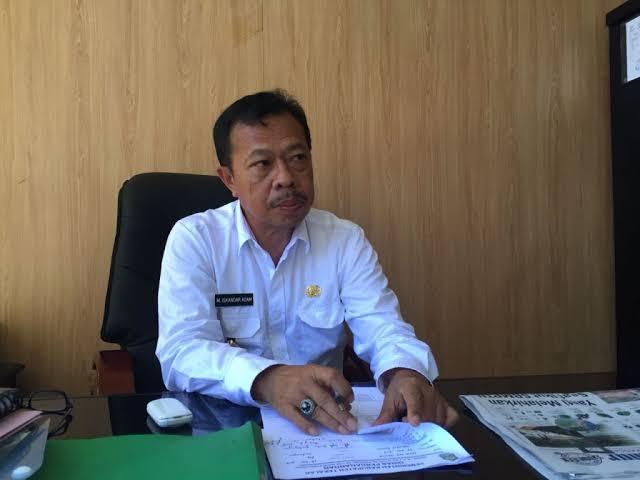 Kepala Dinas Perdagangan Kabupaten Takalar Muhammad Iskandar Adam, Senin (22/4/2019). (AK. Berita.News)