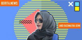Calon legislatif DPRD Sulsel, Andi Rachmatika Dewi atau Cicu. (Foto: Instagram/cicutika/BERITA.NEWS)