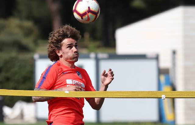 Antoine Grienzmann. (Foto: Atletico Madrid/Ángel Gutiérrez)