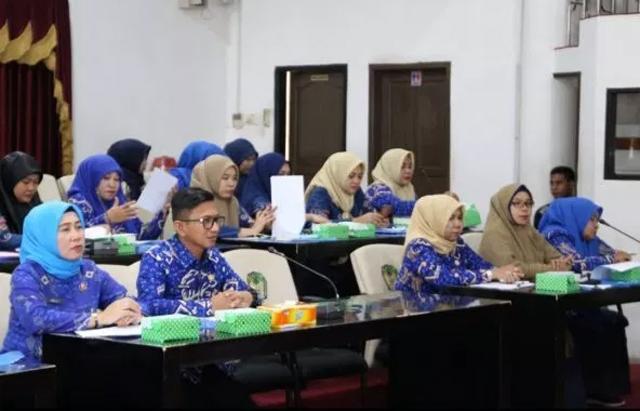 Aparatur Sipil Negara (ASN) lingkup Pemerintah Kabupaten Gowa. (BERITA.NEWS/ACP)