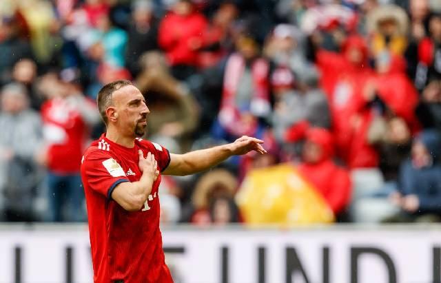 Pemain Bayern Munchen, Franck Ribery. (Twitter/FCBayern)