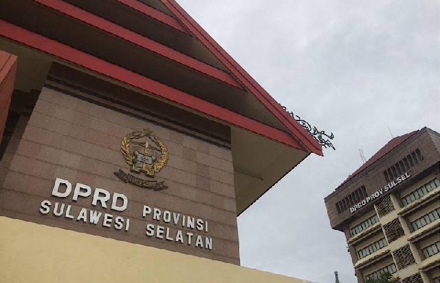 Gedung DPRD Provinsi Sulsel. (INT)