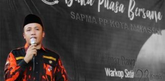 Ketua SAPMA PP MAKASSAR Hasrul Kaharuddin.