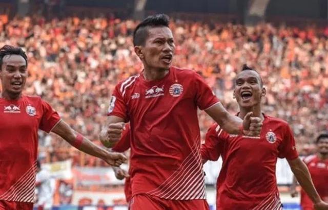 Pemain Persija Jakarta (int)
