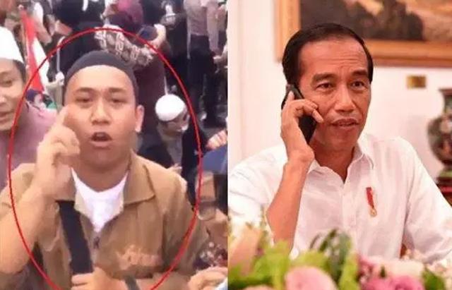 Pemuda yang mengaku asal Poso ancam penggal kepala Jokowi