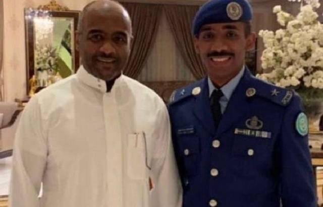 mantan wakil kepala intelijen, Ahmed Asiri (kanan). (Twitter)
