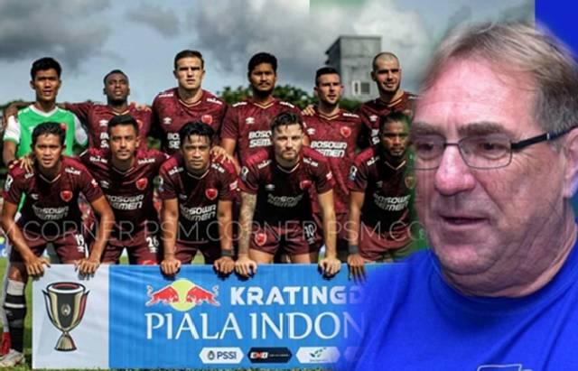 Pemain PSM Makassar dan Pelatih Persib, Robert Rene Alberts. (Instagram/psm.corner, persib)
