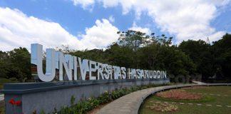 Universitas Hasanuddin (Unhas) Makassar.(Berita.news/Ratih Sardianti Rosi)