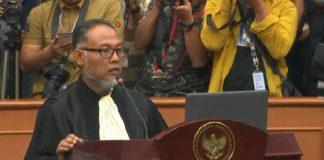 Ketua Kuasa Hukum Prabowo-Sandi, Bambang Widjojanto. (Screen shot/YouTube MK)