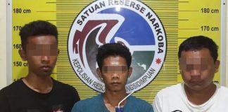Dua staf RSUD Padangsidempuan dan 1 staf Bawaslu, diringkus polisi terkait narkoba