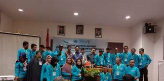 peserta pelatihan tata kelola destinasi di hotel Grand Imawan, Makassar, Jumat (14 /6/2019).