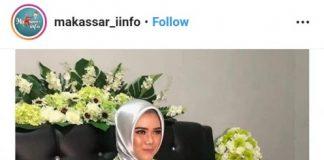 Foto : Screenshoot prosesi lamaran Bripda Iin Ariska Syahrir yang viral di sosial media Instagram.