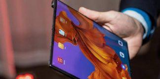 Smartphone lipat Huawei Mate X yang dilengkapi jaringan 5G. (Foto: ZDNet)