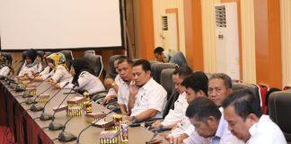 Suasana di ruang pola kantor Bupati, Rabu (19/6/2019).(Berita.news/Fitriani Aulia rizka)