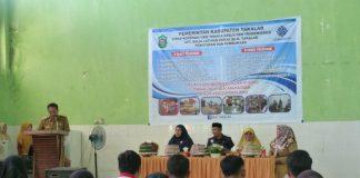 Suasana pelatihan di Balai Latihan Kerja Kabupaten Takalar, Senin (24/6/2019).(Berita.news/Abdul Kadir)