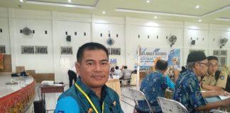 Kepala sekolah SMAN 5 Makassar, Atman Amir.(Berita.news/KH)