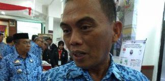 Kepala Badan Kepegawaian dan Pengembangan Sumber Daya Manusia (BKPSDM) Kabupaten Gowa Muh Basir. (Berita.news/ACP).