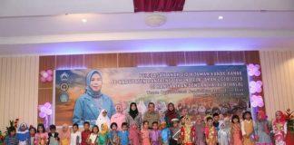 Penamatan anak didik TK di Gedung Balai Kartini, Selasa (18/6/2019).(Berita.news/Fitriani Aulia Rizka).