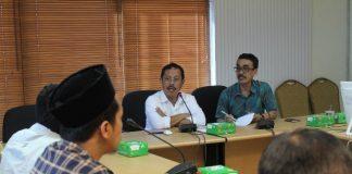 Sekda Kota Makassar, M Ansar saat menghadiri rapat pemantapan kegiatan Makassar damai untuk Indonesia di kantor balai Kota Makassar, Jumat (21/06/2019).(Berita.news/Ratih Sardianti Rosi)