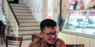 Kadisdik Sulsel Irman Yasin Limpo.(Berita.news/KH)