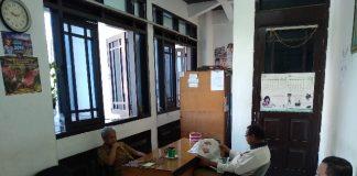 Ruangan Kerja Mantan Bupati Pinrang dua Periode di kantor Gubernur Sulsel, Selasa (18/6/2019).(Berita.news/KH)