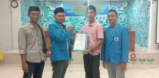 Penyerahan rekomendasi Balon ketua DPD KNPI Kabupaten Takalalr. (Berita.news/Abdul Kadir)