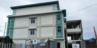Proyek pembangunan RSUD Padjonga Daeng Ngalle. (Berita.news/Abdul Kadir).