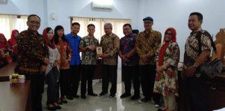 Kunjungan Panitia Khusus (Pansus) Dewan Perwakilan Rakyat Daerah (DPRD) Kota Surakarta atau yang lebih dikenal dengan kota Solo Jawa Tengah ke DPRD Gowa. (Berita.News/ACP)