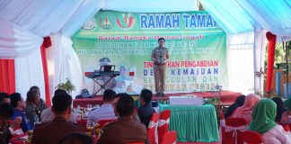Wakil Bupati Tomy Satria Yulianto menghadiri ramah tamah dan syukuran dalam rangka Hari Bhakti Adhyaksa ke 59 tahun 2019 di Kantor Kejaksaan Negeri Bulukumba. (BERITA.NEWS/IL).