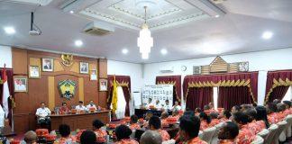 Kunjungan peserta Pendidikan dan Pelatihan (Diklat) Kepemimpinan (PIM) IV Kabupaten se-Provinsi Papua di Kabupaten Gowa. (BERITA.NEWS/ACP).
