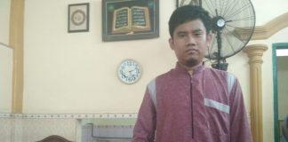 Pengurus masjid Babul Firdaus, Durjansyah Patriot korban pemukulan Oknum ASN di Gowa. (BERITA.NEWS/ACP).