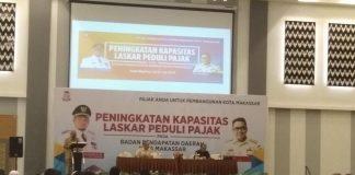 Peningkatan kapasitas laskar peduli pajak di Hotel Max One Makassar, Selasa (30/7/2019). (BERITA.NEWS/Ratih Sardianti Rosi).