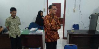 Gubernur Sulsel Nurdin Abdullah sidak kantor Dinas Kehutanan Sulsel. (Berita.news/KH).