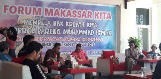Konferensi pers para kreator muda bersama muhammad ismak di Red Corner Cafe, Kamis (18/7/19). (Berita.news/Ratih Sardianti Rosi).