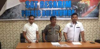 Press rilis Polres Bulukumba dipimpin Wakapolres Kompol Syarifuddin. (BERITA.NEWS/IL).