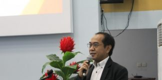 Dekan Sekolah Pasca Sarjana Unhas, Prof. Jamaluddin Jompa, Ph.D. (BERITA.NEWS/Ratih Sardianti Rosi).