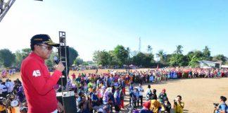 Gubernur Sulsel Nurdin Abdullah Dihadapan Masyarakat Takalar. (BERITA.NEWS)