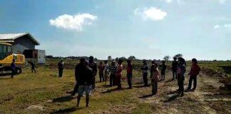 Warga usir paksa penambang di Dusun Popo. (BERITA.NEWS).