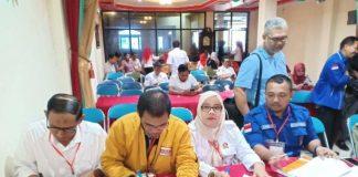 Komisi Pemilihan Umum (KPU) Kabupaten Sinjai mengadakan rapat pleno penetapan perolehan kursi (BERITA.NEWS/Muhammad Aswin).