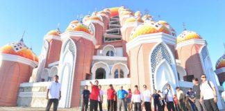 Wapres Jusuf Kalla Tinjau Masjid 99 Kuba. (BERITA.NEWS/KH).