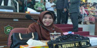 Husnia Rachman Daeng Tayu kembali terpilih anggota DPRD Kabupaten Takalar periode 2019-2024. (BERITA.NEWS/Abdul Kadir).