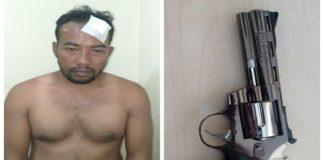 Pelaku dan barang bukti yang diamankan unit Jatanras Polrestabes Makassar. (BERITA.NEWS).