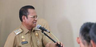 Bupati Luwu H. Basmin Mattayang.