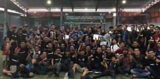 Foto bersama KKFM usai turnamen Futsal Farmasi Cup V KKFM 2019 usai. (BERITA.NEWS/Abdul Kadir).