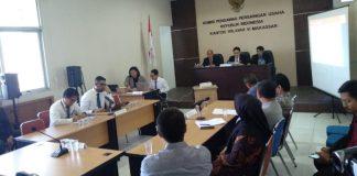 Sidang Putusan Perkara KPPU.(BERITA.NEWS/KH).